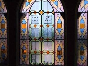 The windows of Château de Crémat