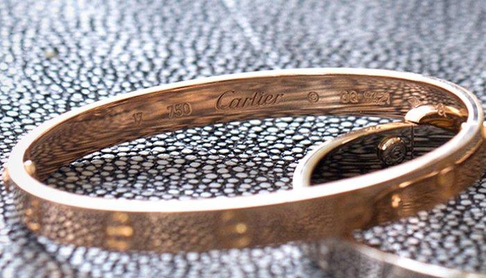 Cartier hallmarks