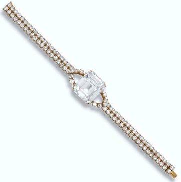 3 M Gérard Diamond Bracelet