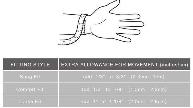 Bracelets Bracelet Size Guide02