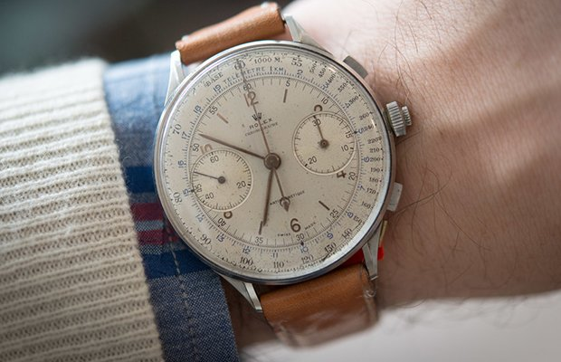 Rolex Split-Seconds Chronograph Ref. 4113