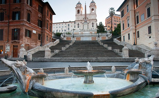 spanish steps bulgari