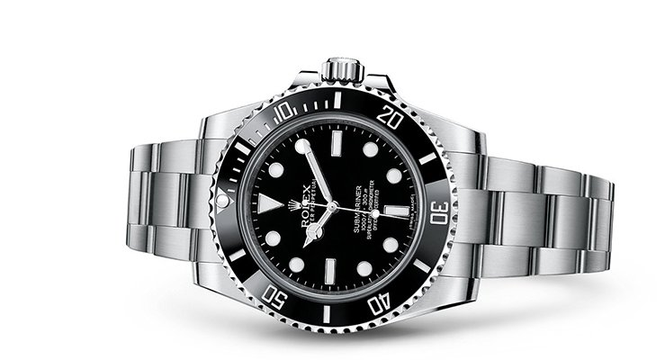 Rolex Submariner with Black Bezel and Dial