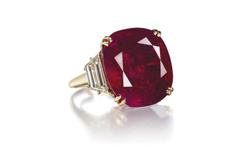 The Patiño Ruby and Diamond Ring