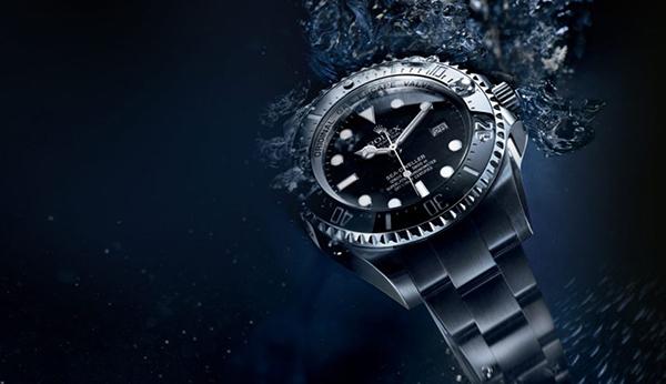 Rolex Watch in Water