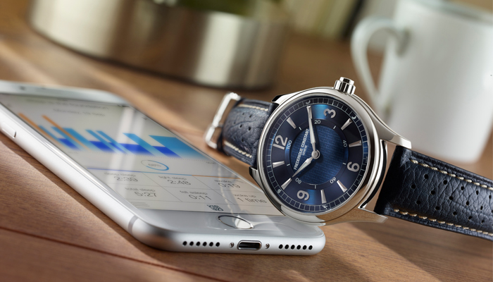 Frederique Constant Horological Smartwatch and Smartphone