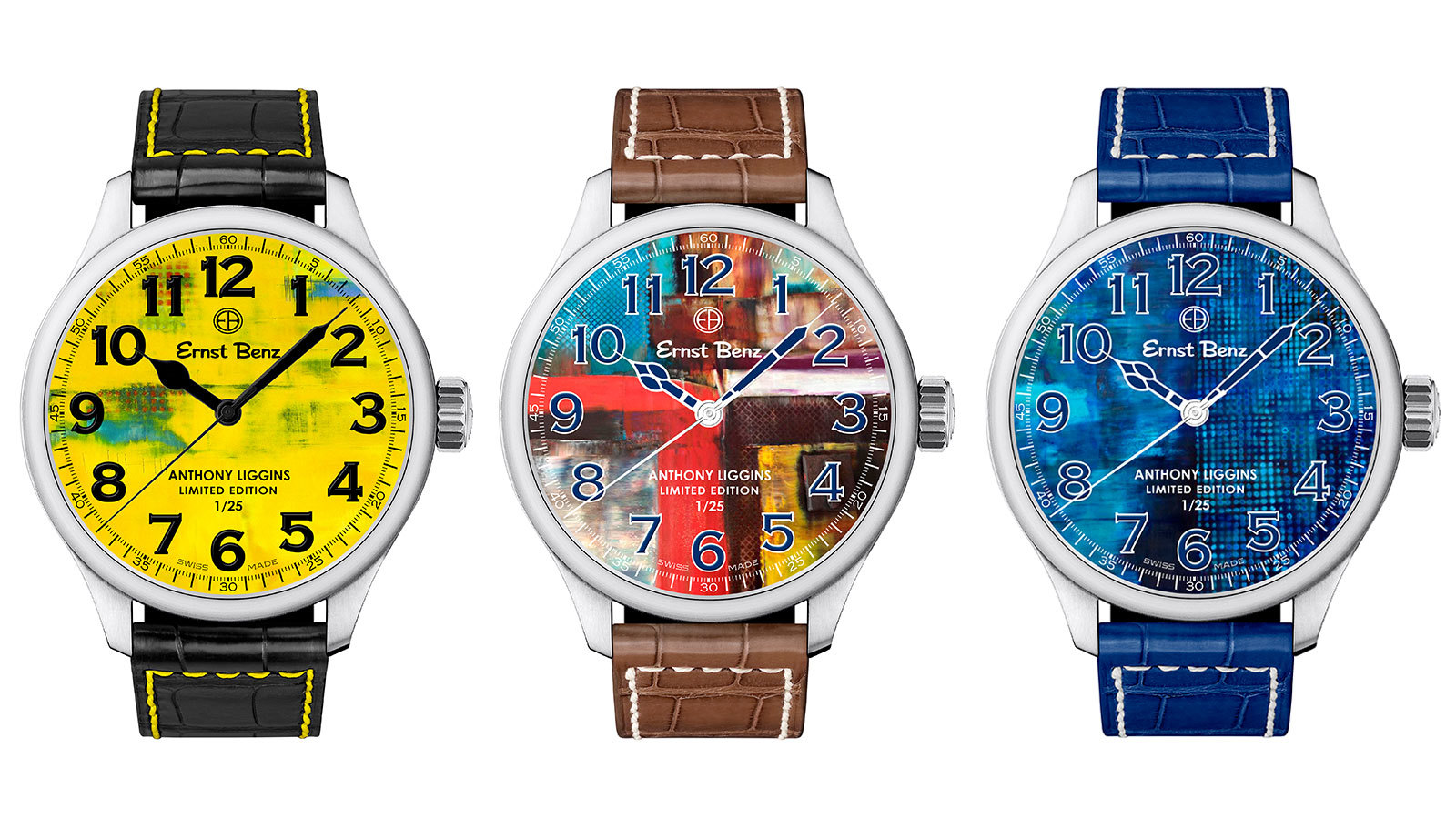 Ernst Benz and Anthony Liggins watches