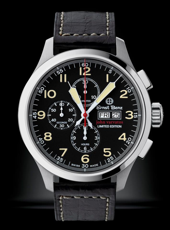 Ernst Benz John Varvatos Chronoscope