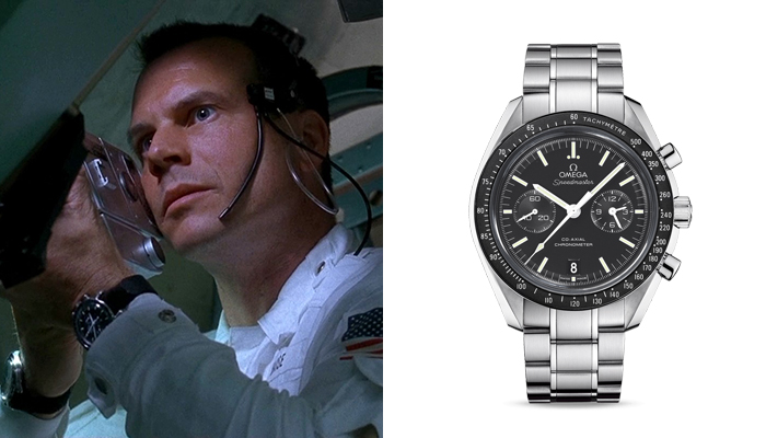 Bill Paxton in Apollo 13 wearing an Omega Speedmaster