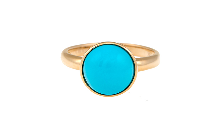 LALI JEWELS 14k Turquoise Ring