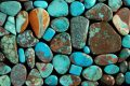 Different types of turquoise. Image courtesy of Y Jeweler.