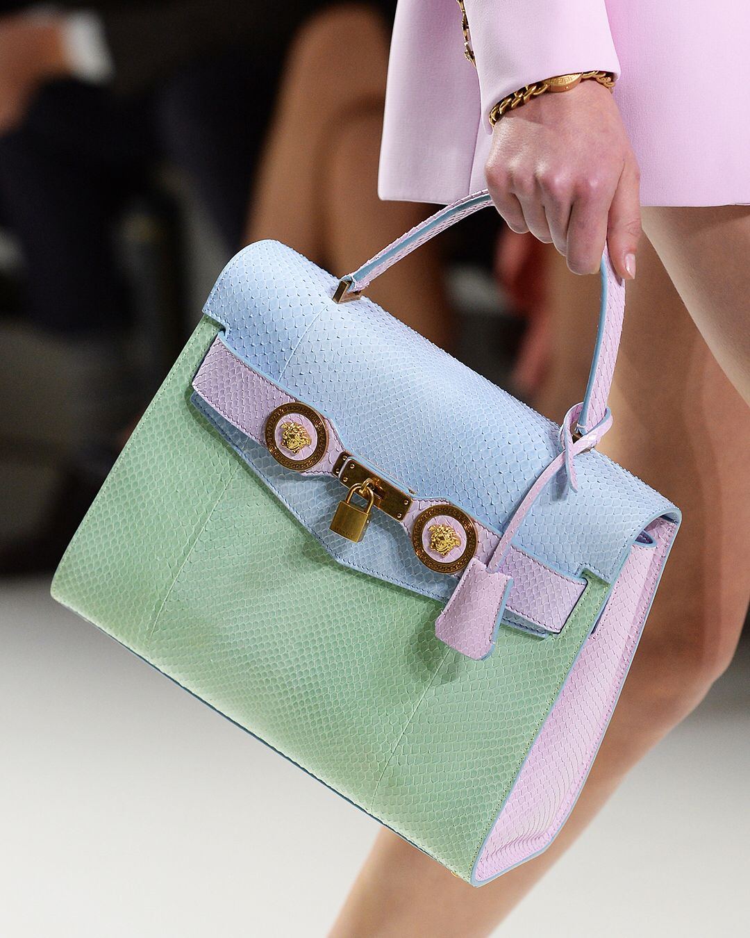 Pastel colored bags