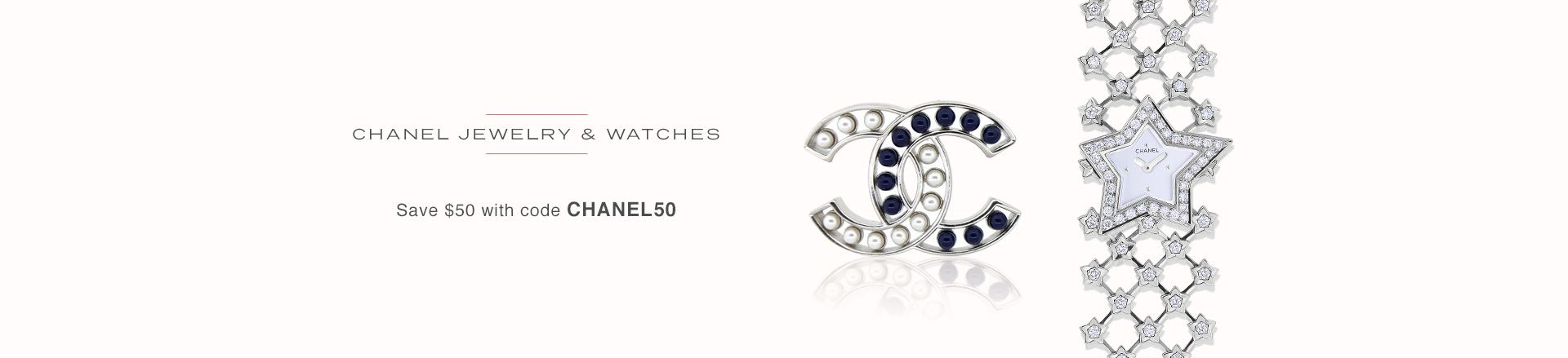 Chanel Jewelry and Watches