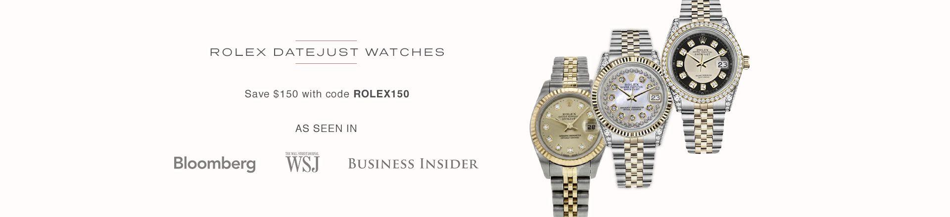 Rolex Datejust Watches