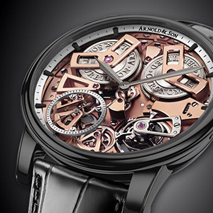 240 Years of Arnold & Son's British Watchmaking Excellence