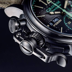 A Closer Look at the Graham Chronofighter's Signature