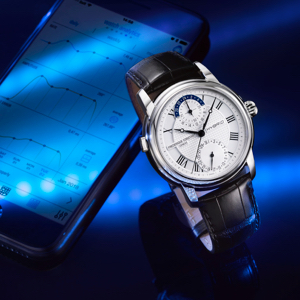 Frederique Constant Celebrates 30th Anniversary, Unveils Hybrid Watch