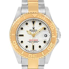 Rolex Yachtmaster 35mm Midsize Steel Yellow Gold Unisex Watch 168623