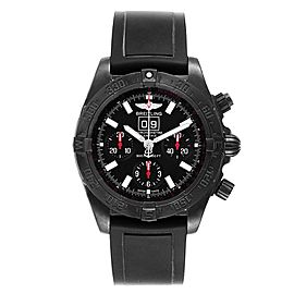 Breitling Chronomat Blackbird Blacksteel Limited Edition Watch M44359