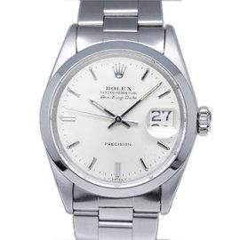 Rolex Air-King Date 5700 Stainless Steel 35mm Vintage Mens Watch