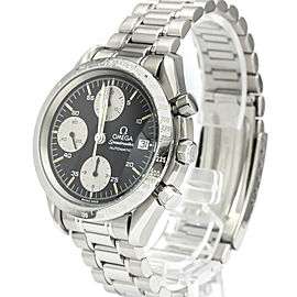 Polished OMEGA Stainless steel Speedmaster Date Steel Automatic Mens Watch