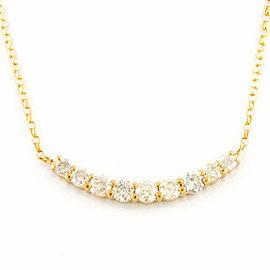 18k yellow gold Diamond Dancing Venetian Necklace CHAT-93