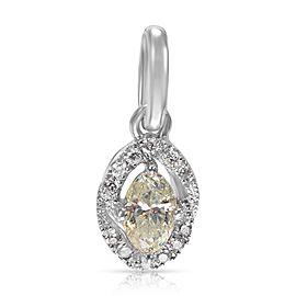 Marquise Diamond Pendant in KL I2 0.55 CTW