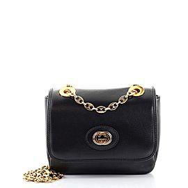 Gucci Marina Chain Flap Bag Leather Mini