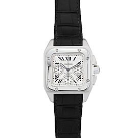 Cartier Santos 100 W20090X8 38mm Womens Watch
