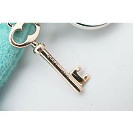 Tiffany & Co. Silver & Metal Return To Tiffany Heart & Key Necklace