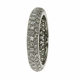 CARTIER Diamond Platinum Ring