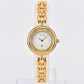 Gucci 11/12 Change Bezel Gold Plated Quartz Women's Watch