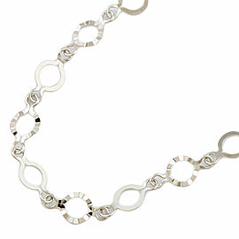 Sunlight Platinum long Necklace CHAT-772