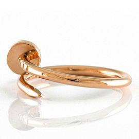 CARTIER 18K Pink Gold nail Justo en Cul Ring