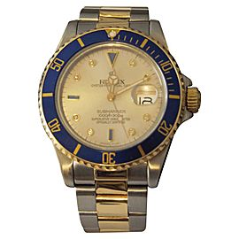 Rolex Submariner 16803 40mm Mens Watch