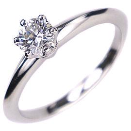 TIFFANY&Co Pt950Platinum Solitaire Ring