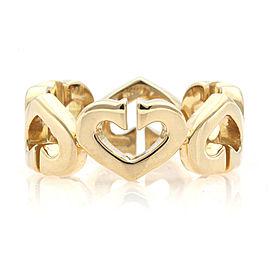 CARTIER 18K Yellow Gold Motif heart Ring CHAT-947