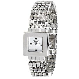 Chopard Geneve 117484-1003 Women's Watch in 18K White Gold