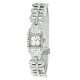 Omega Vintage Dress 650 Women's Quartz Watch in 18K White Gold