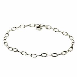 TIFFANY & Co. 18K White Gold Chain Bracelet