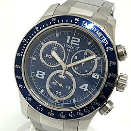 TISSOT T039417 Stainless Steel Sports V8 Chronograph Wrist watch