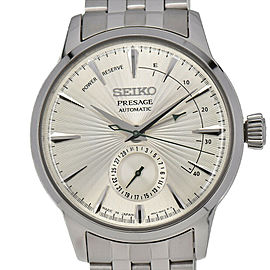 SEIKO Presage SARY079/4R57-00E0 Power Reserve Automatic Men's Watch #HK-316