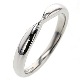 TIFFANY & Co. 950 platinum Harmony Ring TBRK-776