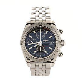 Breitling Chronomat Evolution Chronometer Chronograph Automatic Watch Stainless Steel 44