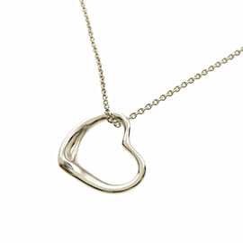 TIFFANY & Co. Silver Open heart Necklace