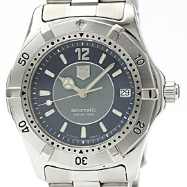 Polished TAG HEUER 2000 Limited Edition Automatic Mens Watch WK2114
