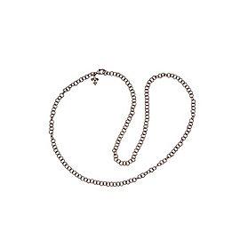 Judith Ripka Verona Sterling Silver & Diamond Circle Link Chain Necklace