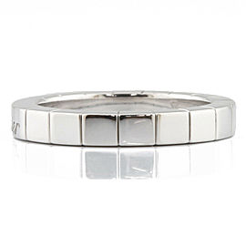 CARTIER 18K white gold Laniere Ring CHAT-321