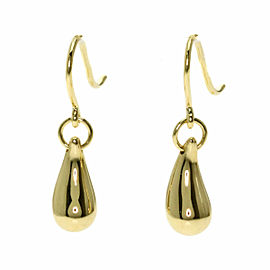 TIFFANY & Co. 18K Yellow Gold teardrop earring