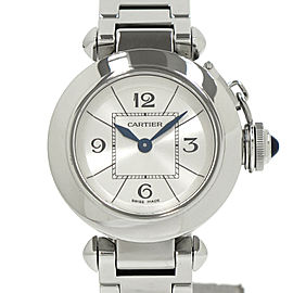 Cartier Pasha Stainless Steel Quartz 27mm Womens Watch